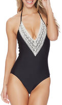 Ella Moss Solids Removable Soft Cup One-Piece Swimsuit