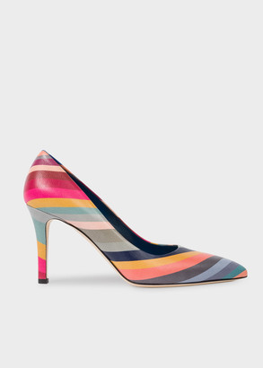 Paul Smith Women's 'Swirl' Leather 'Blanche' Heels