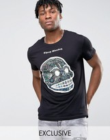 Cheap Monday Colourful Skull T-shirt