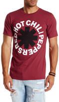 Bravado Red Hot Chili Pepper Black Asterisk Graphic Tee