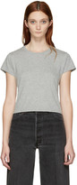 RE/DONE Re-done Grey 1950s Boxy T-shirt
