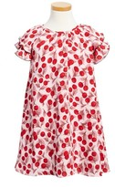 Kate Spade Toddler Girl's Cherry Print Flutter Sleeve Dress