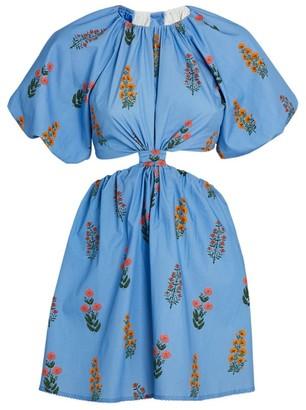 Agua Bendita Cut-Out Laurel Dress