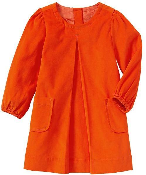 Gap Pleated cord dress