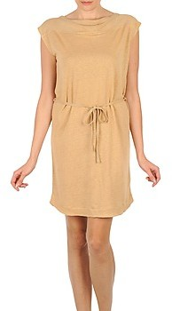 Majestic CAMELIA women's Dress in Beige