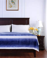 Berkshire Ombre Stripe Textured Honeycomb King Blanket Bedding