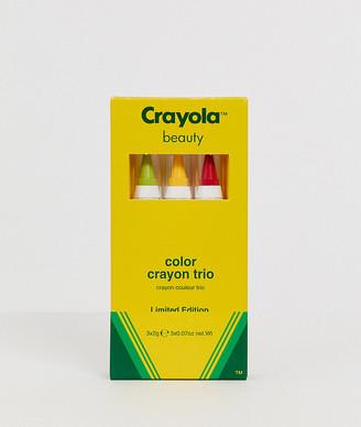Crayola Colour Crayon Trio - Fruit Cocktail