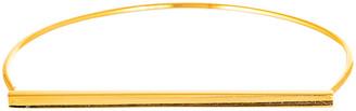 Bliss Women's Bracelets Gold - 18k Gold Bar Bangle Bracelet