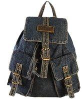 Donalworld Women Jean Denim Backpackhoulder Bagchool Bag
