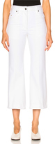 Calvin Klein Collection Fray Bis Five Pocket Jeans in White.