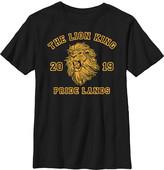 Fifth Sun Boys' Tee Shirts BLACK - The Lion King Black 'Pride Lands' Simba Crewneck Tee - Boys