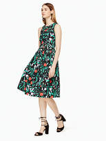 Kate Spade Jardin poplin dress
