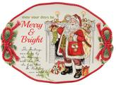 Fitz & Floyd Night Before Christmas Serving Tray