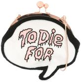 Sophia Webster 'To Die for' crossbody bag - women - plastic/glass/Cotton - One Size