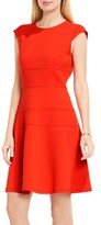Vince Camuto Women's Seam Detail Fit & Flare Dress