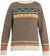 A.P.C. Arcade Pierre crew-neck cotton sweater