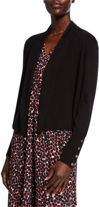 Nic+Zoe Petite Book Club Cardigan with Button Detail