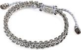 M. Cohen Stacked Skull Silver bracelet