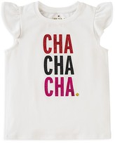 Kate Spade Girls' Cha Cha Cha Tee - Little Kid