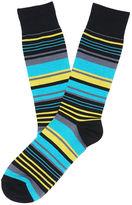 Perry Ellis Tencel East Stripe Sock