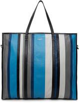 Balenciaga Blue Bazar Shopper Xl Tote