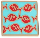 Ariella Collection Fish Enamel Ring