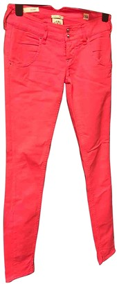 Cycle Pink Cotton - elasthane Jeans for Women
