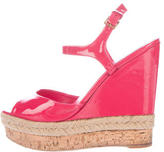 Gucci Patent Leather Wedges