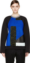 Proenza Schouler Black Panelled Pullover