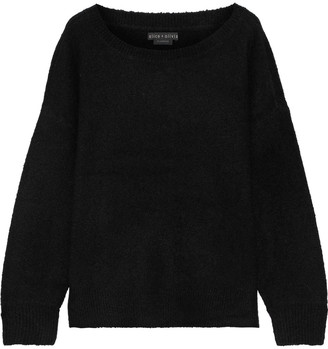 Alice + Olivia Jessie Wool-blend Boucle Sweater