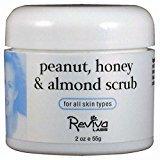 Reviva Peanut Honey-Almond Scrub, 1.5 FL Oz (Pack of 2)