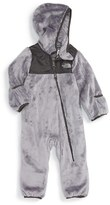 The North Face Infant Boy's Oso Hooded Fleece Romper