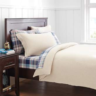 Pottery Barn Teen Favorite Tee Duvet Cover, Full/Queen, Heathered Oatmeal