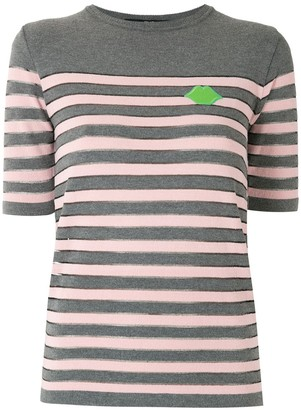 Eva Striped Knit Top