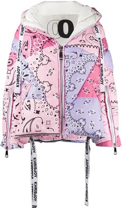 KHRISJOY Paisley Print Padded Jacket