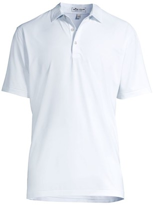 Peter Millar Halford Stripe Jersey Polo Shirt