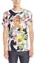 Looney Tunes Men's Allover Short-Sleeve Shirt