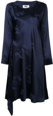 MM6 MAISON MARGIELA Floral Embroidered Dress