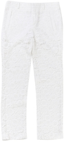 Givenchy White Cotton Trousers