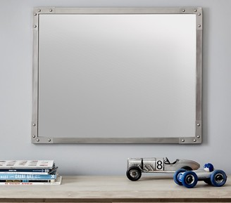 Pottery Barn Kids Antique Nickel Riveted Mirror