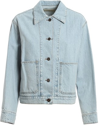 Max Mara Cropped Denim Jacket