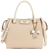 GUESS JQ668306NUD Ryann Double Handle Satchel