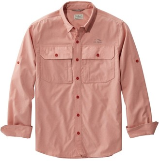 L.L. Bean Men's No Fly Zone Shirt, Long-Sleeve
