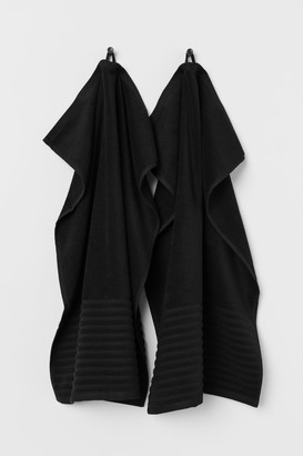 H&M 2-pack Hand Towels