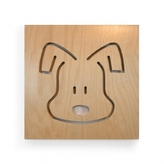 Pin It Spot On Square Animal Series Wall Art - Jasper The Dog
