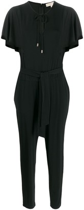 MICHAEL Michael Kors Short Sleeve Jumpsuit