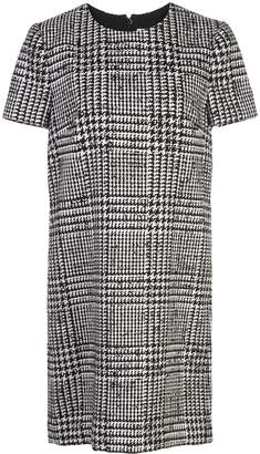Carolina Herrera Glen plaid midi dress