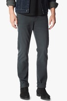 7 For All Mankind Luxe Performance Colored Denim Slimmy Slim In Black Emerald