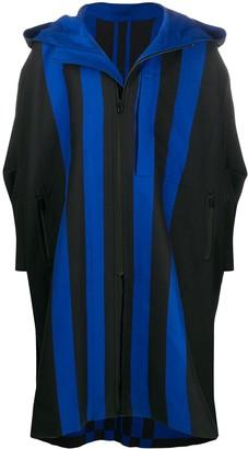 Issey Miyake Oversized Hooded Coat