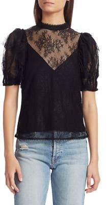Free People Secret Admirer Lace Blouse